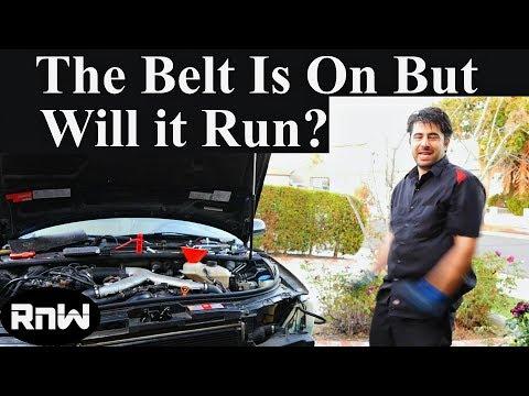 Bi-Turbo Audi Timing Belt is Finally Installed - Will it Run?
