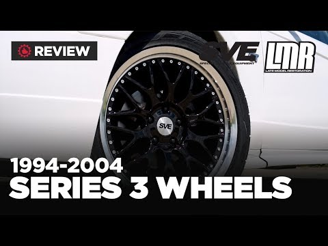 1994-2004 Ford Mustang SVE Series 3 Wheels - Review