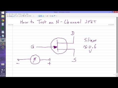 How to Test an N-Channel JFET