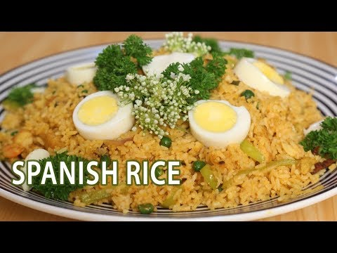 How To Make Spanish Rice | Mallika Joseph Food Tube