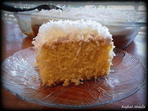 Coconut Cream & Milk Cake