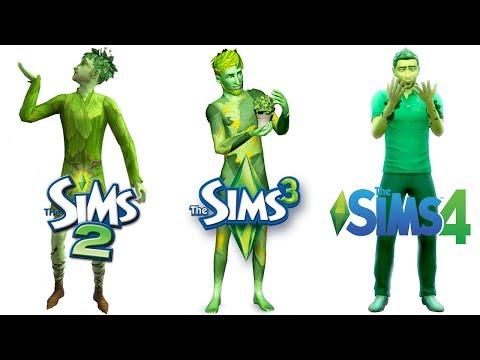 ♦ Sims 2 vs Sims 3 vs Sims 4 : PlantSims