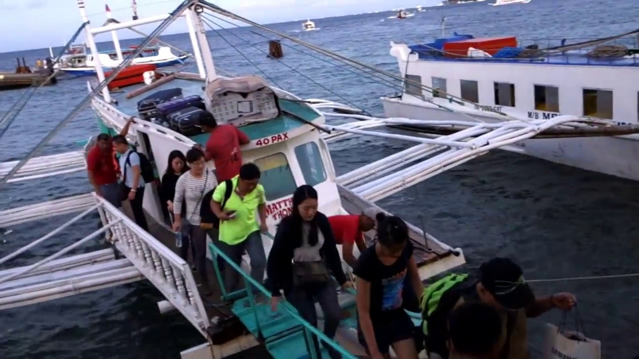 How to get from Caticlan Airport to Boracay Island