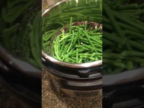 Frozen veggies on the Instant Pot