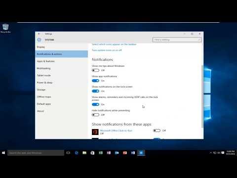 How To Enable App Notifications In Windows 10 [Tutorial]