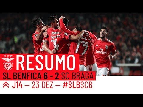 HIGHLIGHTS: SL Benfica 6-2 SC Braga