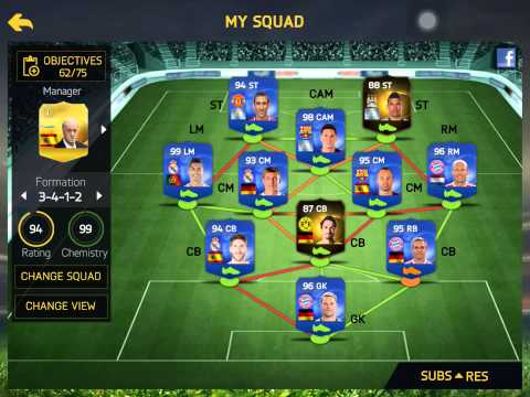FIFA 15 IOS-THE BEST TEAM ON FIFA EVER?! (W/TOTY'S+INFORMS+MOTM'S)