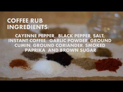 Starbucks BBQ? | Coffee Rub & Sauce