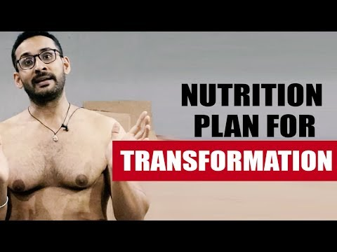 Nutrition plan for transformation