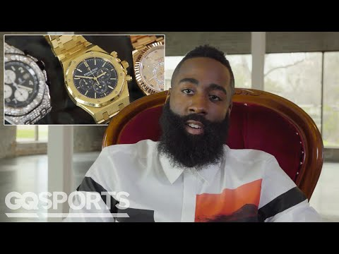 James Harden Shows Off His Insane Jewelry Collection   GQ