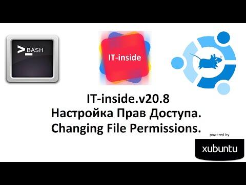 v20.8 Изменение Права Доступа в CLI Ubuntu. Changing File Permissions.