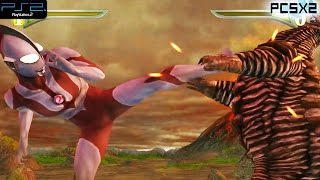 Ppsspp Ultraman Fighting Evolution 0 Mod Characters New Part 1
