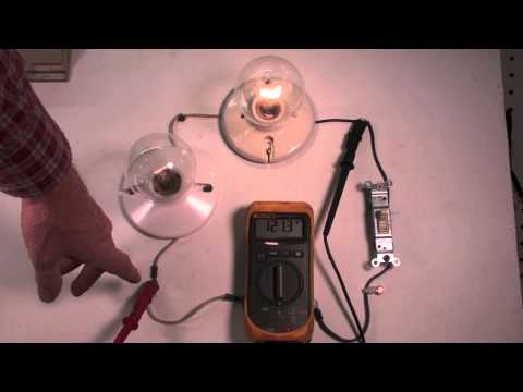 Electric troubleshoot with the voltmeter, voltage drop.  part 2
