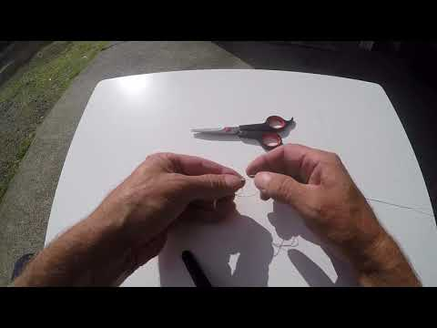How to Tie Braided Fishing Line to a Swivel or Hook Easily!