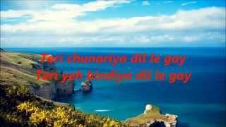 Teri Chunariya Dil Le Gayi Karaoke With Lyrics = HELLO BROTHER - Arjun