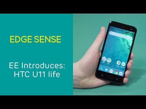 EE Introduces: HTC U11 life - Edge Sense
