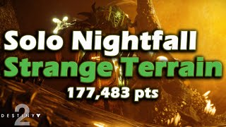Destiny 2 - Solo Prestige Nightfall: Strange Terrain (7:41)