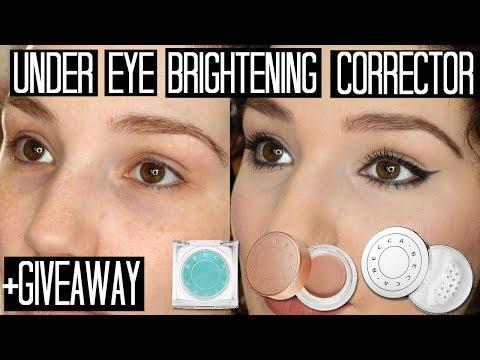 Becca Under Eye Brightening Corrector, Primer & Powder Review
