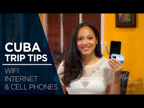 Cuba Trip Tips Ep. 7 Wifi Internet & Cell Phone | Made To Order | Chef Zee Cooks