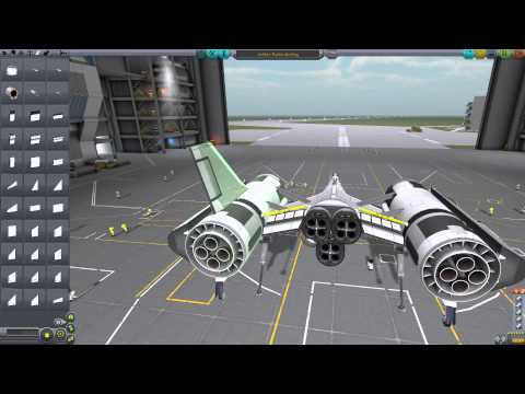 At least I tried - building the destiny ship in ksp
