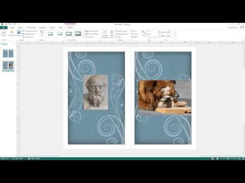 Publisher 2013: Adjusting Images