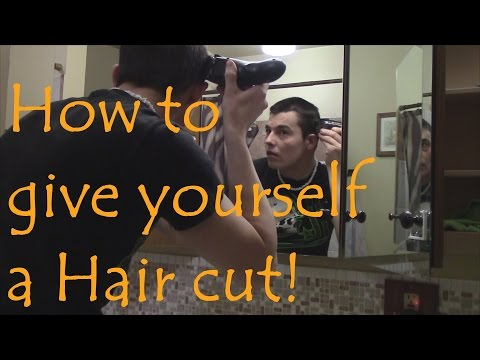 How to Give a buzz cut!