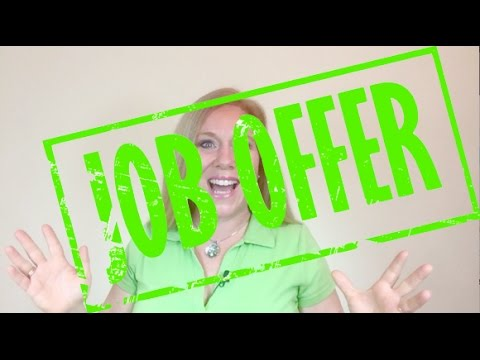 I got the job offer | Land Your Dream Job | How To Interview | Job Search | Job Seeker