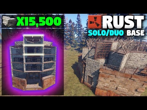 *NEW* CHEAP SOLO or Small Group Design | (Layout) Rust Base Building