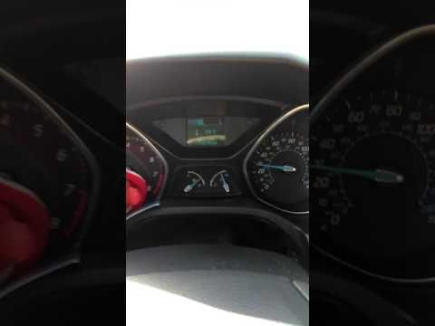 Ford focus 2012 SE. High temperature warning. Stop safely