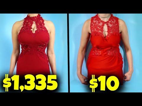 $10 Prom Dress Vs. $1000 Prom Dress!