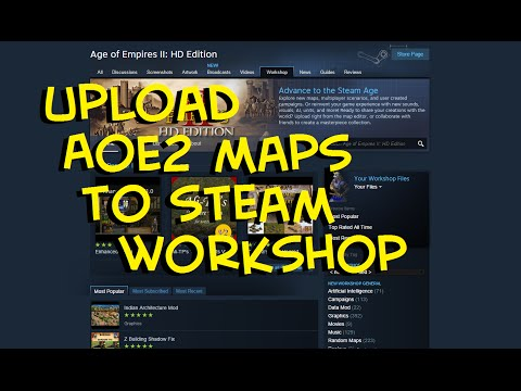 How to Upload to AoE2 Steam Workshop