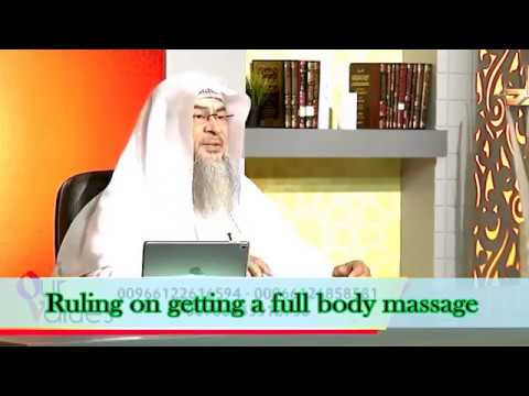 Ruling on having a full body massage and it's impact on your fast - Sheikh Assimalhakeem