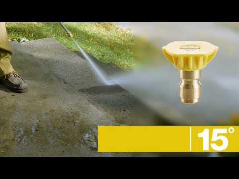 Quick-Connect Spray Tips   Troy-Bilt® 3100 Max PSI Pressure Washer