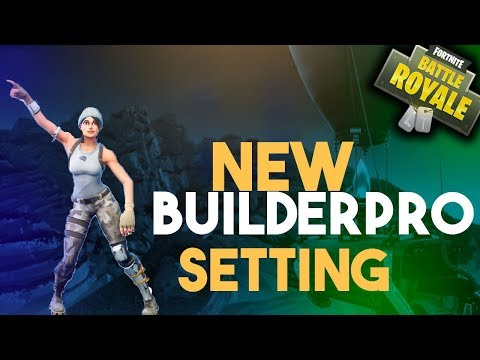 MY UPDATED 2018 FORTNITE SETTINGS (INCLUDES BUILDER PRO SETTING)