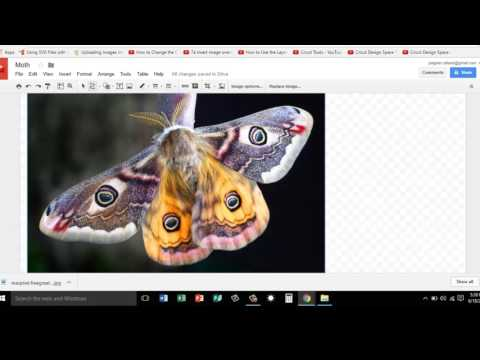 Using Google Drawing to Create SVG Files for the Cricut Cutter