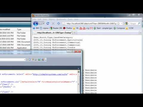 IVb simpler/dev - create/edit select.xml