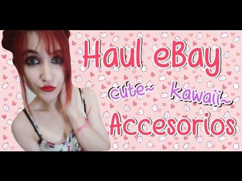 Haul cute & kawaii ~ Accesorios eBay ♥