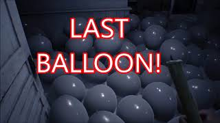 Resident Evil 7 - What happens if you take out all the Balloons then solve Lucas