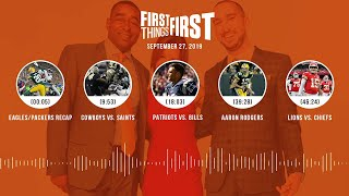 First Things First Audio Podcast (9.27.19)Cris Carter, Nick Wright, Jenna Wolfe | FIRST THINGS FIRST