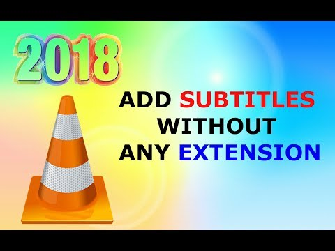 How to Add Subtitles in Videos Without Extension | VLC Media Player