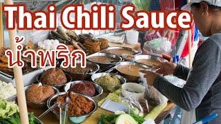 How to Eat Thai Nam Prik (Thai Chili Sauce นำ้พริก)