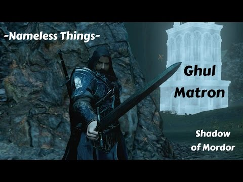 Middle Earth:Shadow of Mordor - Sword Legend Ghul Matron -Nameless Things