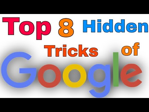 Top 8 Google Tricks for Fun   You Have to Know !