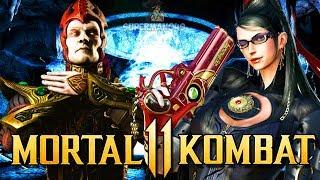 Download MORTAL KOMBAT 11: Bayonetta Guest DLC & Shinnok Leaked? New Character & SPAWN! (MK11 Gameplay) Video