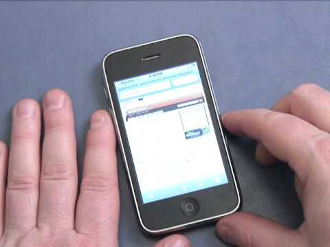 Getting on the Internet with your iPhone