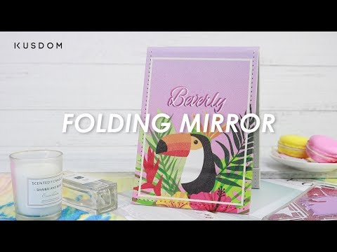 Folding Mirror - Design Your Own