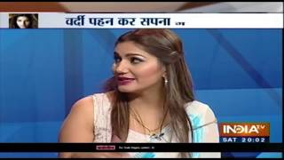 Exclusive: Sapna Choudhary promotes her film Dosti Ke Side Effects on India TV