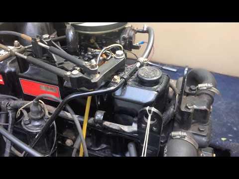 Mercruiser Oil change - Fresh/Clean oil for the Summer