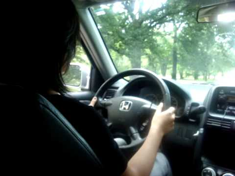 Linda's Second Time Driving.