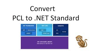 Converting Portable Class Libraries (PCL) to .NET Standard Libaries